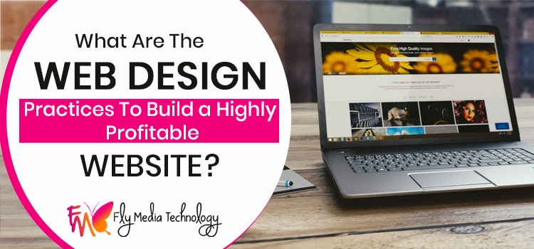 What are the web design practices to build a highly profitable website?